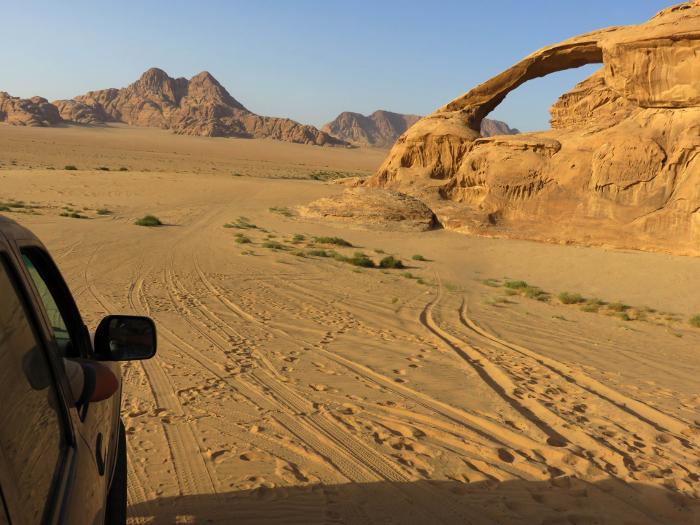 Trekking por Dana, Petra y Wadi Rum. Foto Susana Murciano