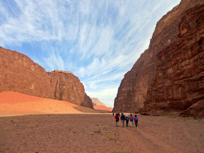 Trekking por Dana, Petra y Wadi Rum. Foto Toni Adrover