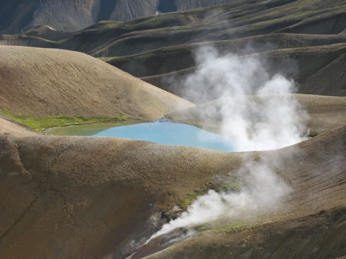 Hielo, fuego, auroras boreales y volcanes. Foto Didac Boiges