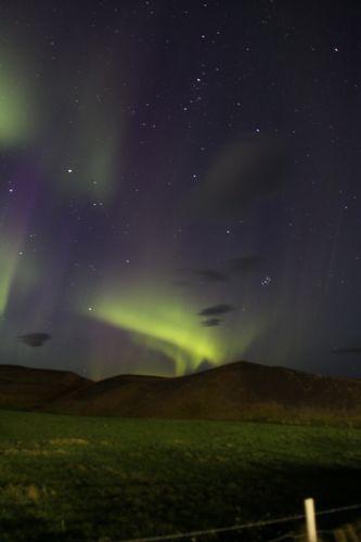 Hielo, fuego, auroras boreales y volcanes. Foto Kepa Garmendia