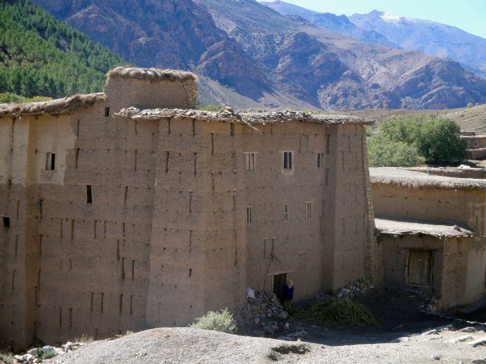 Marruecos. Senderismo en el valle Feliz. Foto Brahim