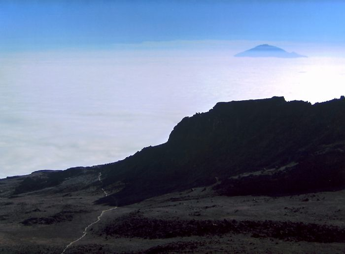 Ascensión al Kilimanjaro. Ruta Rongai. Foto Daniel Angulo