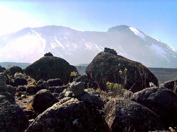 Ascensión al Kilimanjaro. Ruta Rongai. Foto Julio Angulo