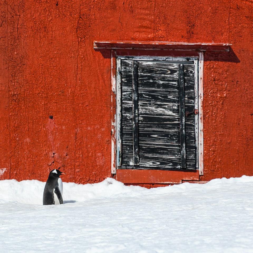 Antartida. Refugio abandonado. Foto Ana María Civeira