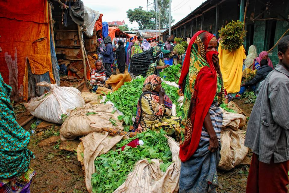 Eiopía - Mercado de Khat. Foto Mercedes Luzzy