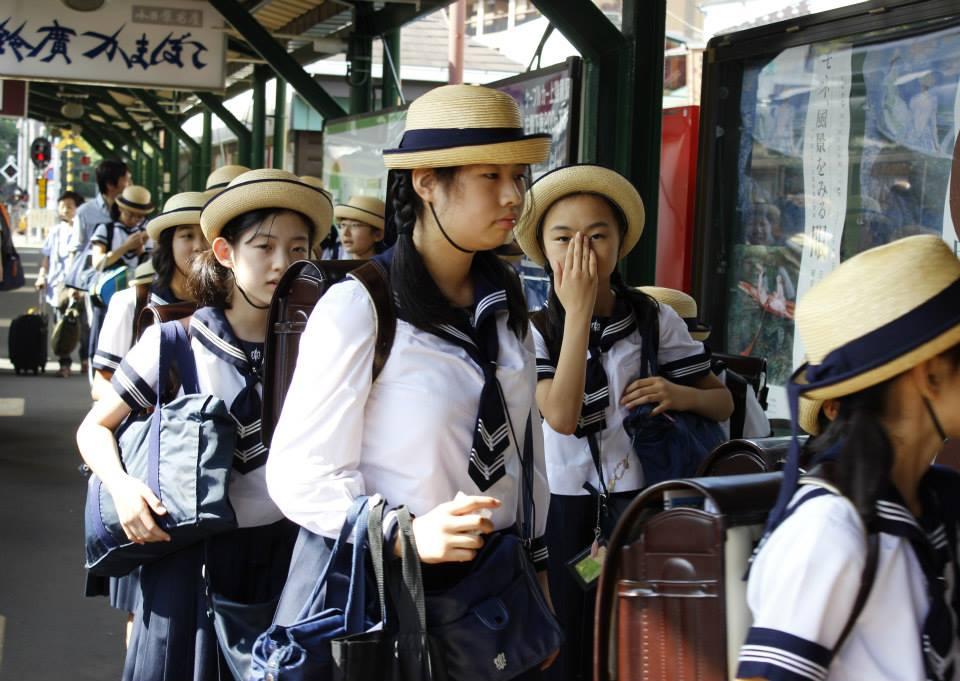 Japón - Escolanas japonesas. Foto Ferran Cano Esquius