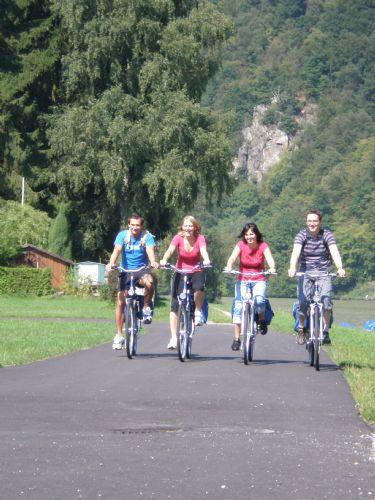 De Passau a Viena en bicicleta. Foto Donau Touristik