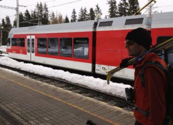 Travesía con esquís de montaña en los Altos y Bajos Tatras. Foto Pere Mongay.