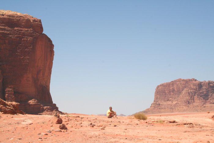 Trekking por Jordania, Dana, Petra y Wadi Rum. Foto David Monros