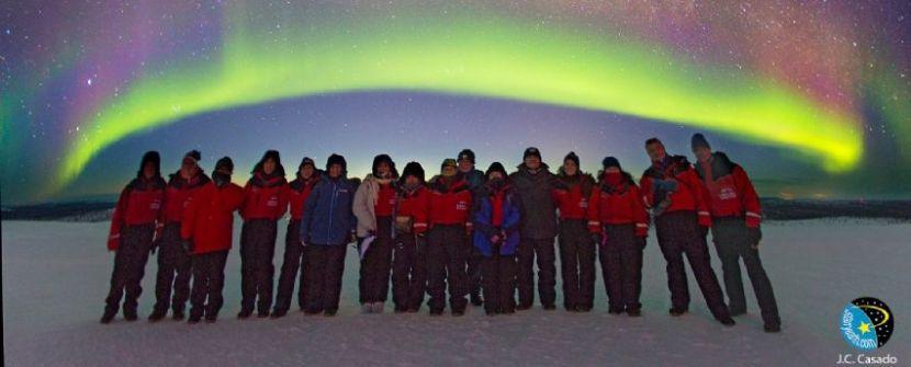 FINLANDIA. Auroras Boreales en Saariselka con Juan Carlos Casado