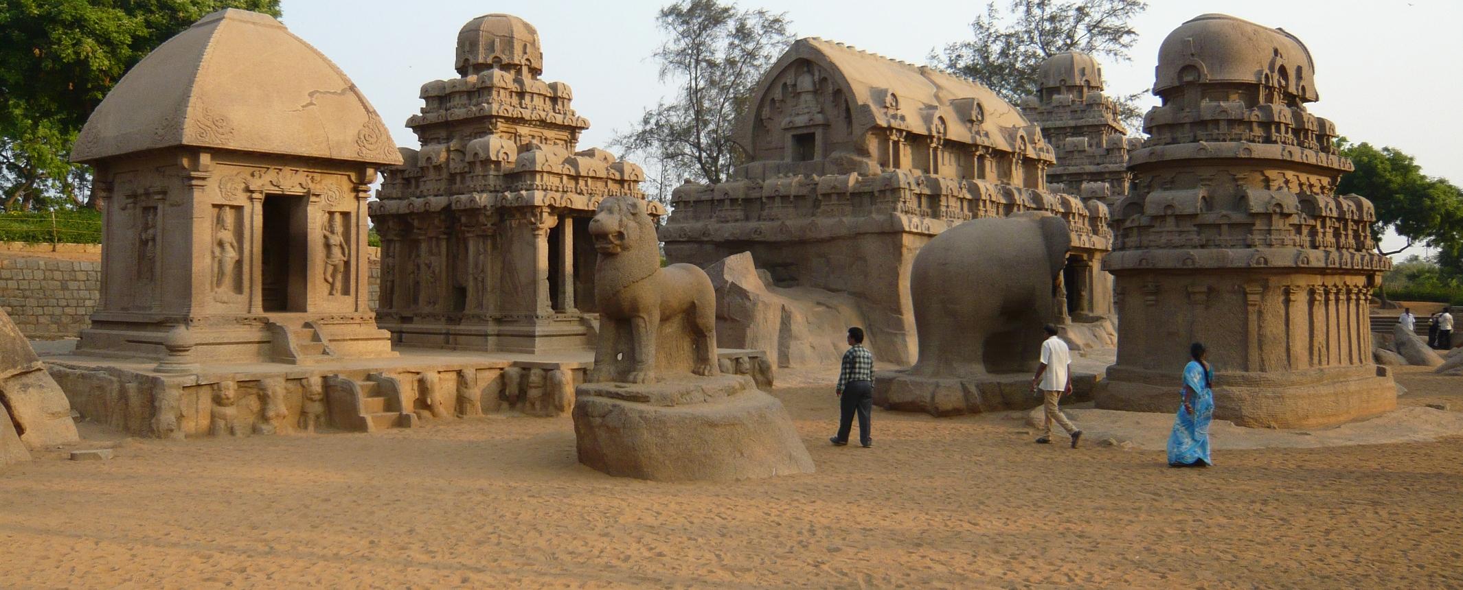 INDIA. El Sur. Estados de Tamil Nadu y  Kerala