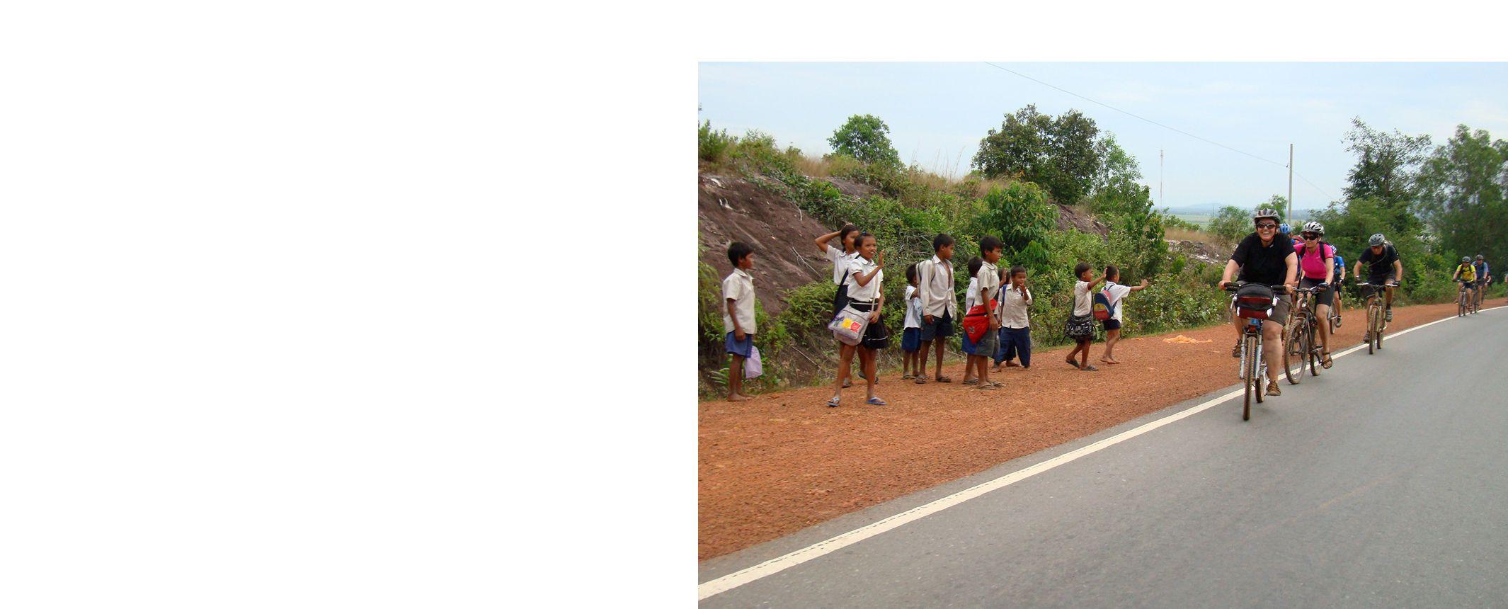 En bicicleta por el reino de los Khmers   – Salidas en grupo