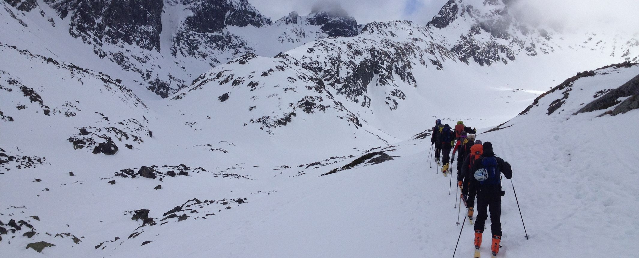ESLOVAQUIA. Travesía en esquís de montaña por los Tatras