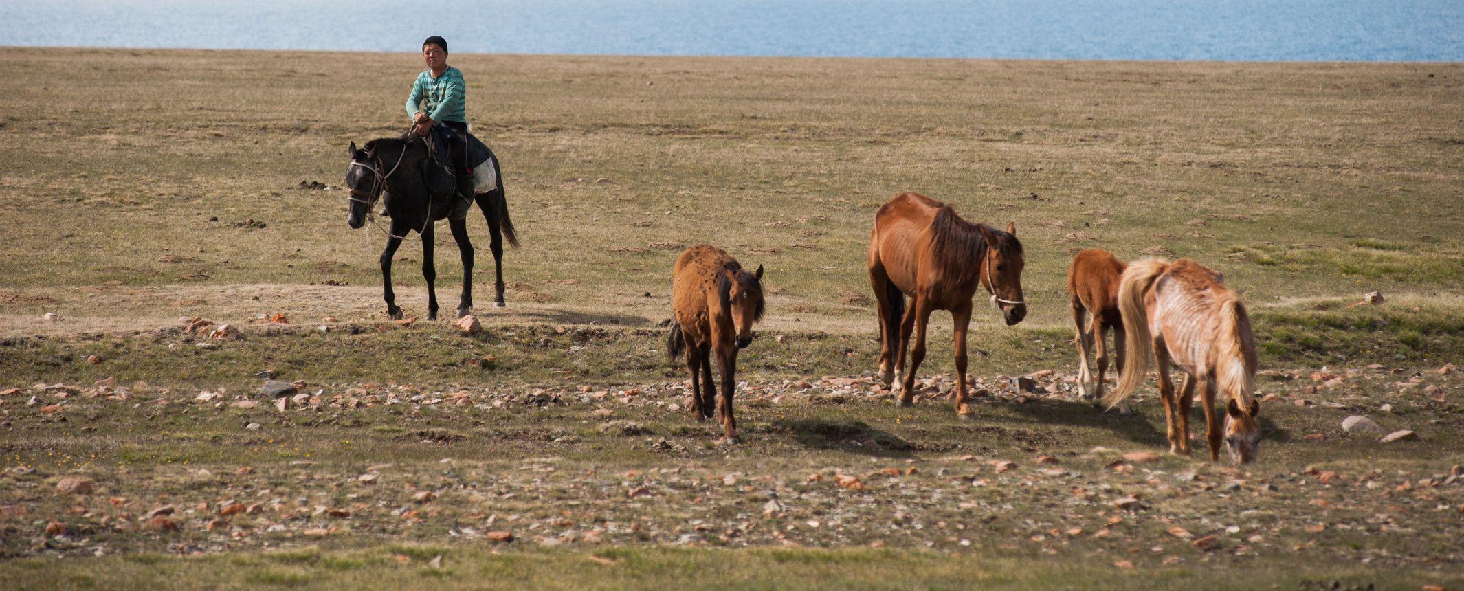 KYRGYZSTÁN. Cruzando las tierras altas de Kyrgyzstán