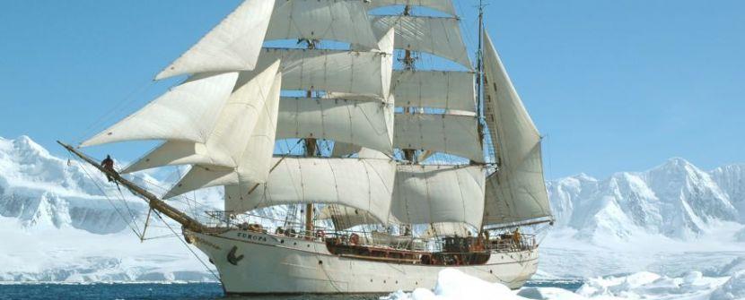 Antártida en velero clásico  – A bordo del bergantín EUROPA