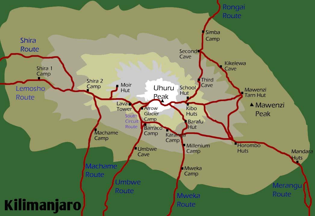 Trekking kilimanjaro como llegar al techo de frica con for Como llegar al ministerio del interior
